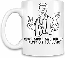 Never Gonna Give You Up Never Let You Down Kaffee