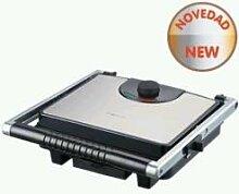 NEVIR nvr-9481CG–Multi Raclette und Grill, 1600W, Inox