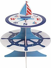 Neviti Ahoy There Cupcake-Etagere