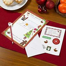 Neviti Christmas Craft Brief an den