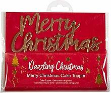 Neviti Dazzling Christmas Tortendeko Cake Topper