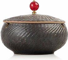 New Chinesische Keramik Aschenbecher mit Einer