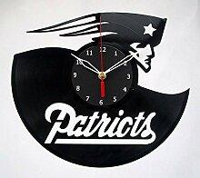 New England Patriots NFL Fußball-Wanduhr,