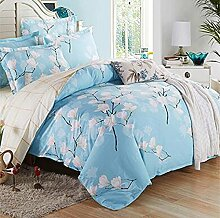 New European and American style costs sets of cotton twill bedding suite