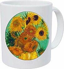 New Fashion Vincent Van Gogh Sonnenblume Glas