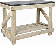 New Hand Made 3Ft Holz Werkbank Neue Küche Top Style Heavy Duty