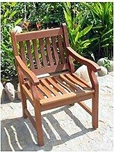 New Jersey Gartensessel Gartenstuhl Sessel Stuhl Holzsessel Eukalyptus FSC