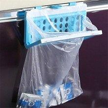 New Kunststoff Kitchen Garbage Tasche Rack tragbar Aufhängen Trash Müll Tasche Aufbewahrung Halter