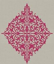 New Luxury Decadence Klassik Damask Tapete, hochwertiges Vlies 10m rot dl30620