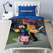 New Minecraft, Einzel-Wende-Bettwäscheset,