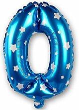 New product40Zoll Anzahl Folie Ballons Hochzeit