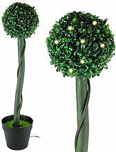 New Solar LED Formschnitt Bush Licht Garden Bush Tree Ball Terrasse Weihnachts Dekoration