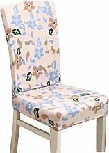 New Stylish Druckstuhl Sets 2 Stück Elastic Stuhl Schonbezüge