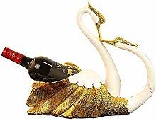 New Swan Weinregal Ornamente Statue