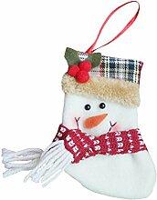 New Year Weihnachten Strümpfe Weihnachts