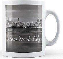 New York City-bedruckte Tasse