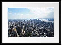 New York City Panorama Bilderrahmen mit