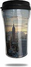 New Yorker Abend Glas Kaffeebecher Travel Mug