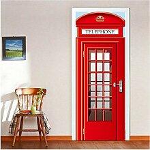 Newberli Tür Kühlschrank Aufkleber London