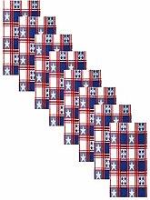 Newbridge American Stars and Stripes Cottage Plaid