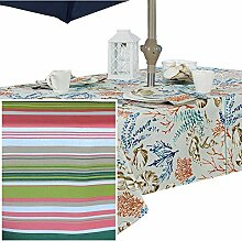 Newbridge Tischdecke für drinnen und draußen,