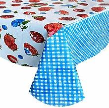Newbridge Tischdecke mit Erdbeerfeldern,
