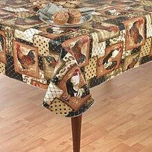 Newbridge Tischdecke mit Flanell-Rückseite,