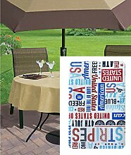Newbridge Tischdecke mit Sternen, Streifen, USA,