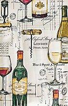Newbridge Tischdecke mit Weinflaschen und Londoner