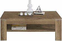 NEWFACE  Couchtisch, Holz, Eiche Antik Dekor, 120