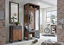 Newfurn Garderobe Komplettgarderobe Industrial