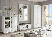 Newfurn Garderobe Komplettgarderobe Landhaus