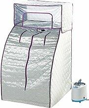 newgen medicals Sauna: Heim-Premium-Dampfsauna,