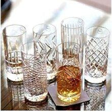 Newport Gläser-Set Kristallgläser JFK Tumbler