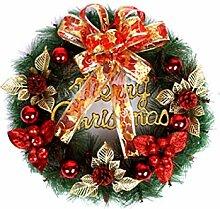 newrong Weihnachtenbaum Adventskranz Rot3