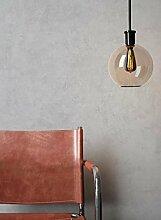 NEWROOM Beton-Optik Tapete Grau Beton Modern