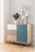 Newroom Kommode, Sideboard Sonoma Eiche Modern