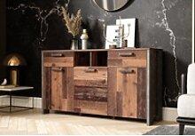 Newroom Sideboard Kane, Sideboard Old Wood Beton