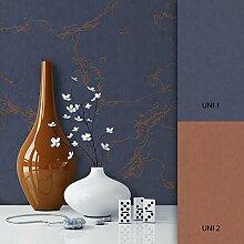 NEWROOM Tapete Blau Vliestapete Muster Muster schöne moderne und edle Design Optik , inklusive Tapezier Ratgeber