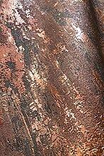 NEWROOM Tapete Bronze Putz Beton Bauhaus