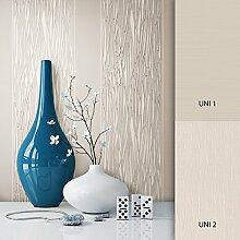 NEWROOM Tapete creme Vliestapete beige natur grafisch,Modern schöne moderne und edle Design Optik , inklusive Tapezier Ratgeber