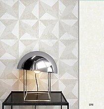 NEWROOM Tapete grafisch Creme Geometrisch Grafik