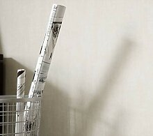 NEWROOM Tapete grafisch creme Unifarbe Uni