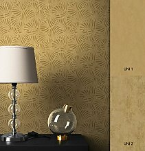 NEWROOM Tapete grafisch Gold Geometrisch Grafik