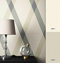 NEWROOM Tapete grafisch Grau Geometrisch Linien
