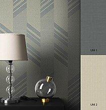NEWROOM Tapete grafisch Silber Geometrisch Grafik
