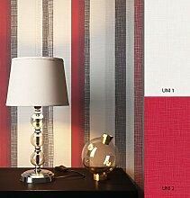 NEWROOM Tapete Rot Streifen Linien Modern