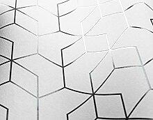 NEWROOM Tapete Weiß Geometrisch Sechseck Grafik
