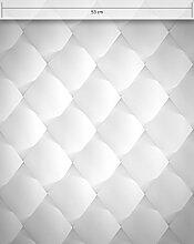 NEWROOM Tapete Weiß Gesteppt Rhombus Grafik