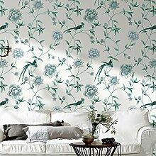 NewStar vlies Vintage Blume Tapete Wandbild Für Wohnzimmer Schlafzimmer Küche Badezimmer